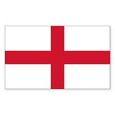 English Flag Decal