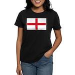 English Flag Women's Dark T-Shirt