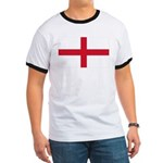 English Flag Ringer T