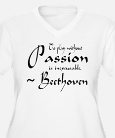 Beethoven Music Passion Quote T-Shirt
