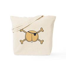 Butt Pirate Tote Bag