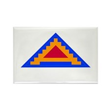 7th Army Patch Rectangle Magnet (100 pack)