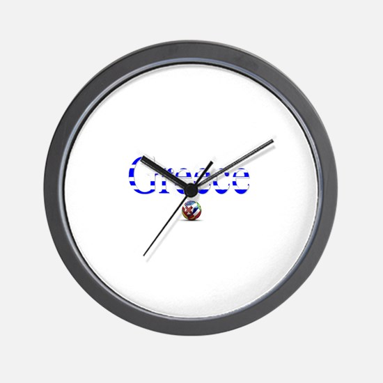 Cool Athens Wall Clock