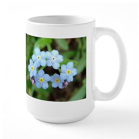 Forget-Me-Nots Large Mug