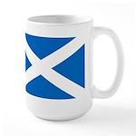 Scottish Flag Large Mug