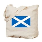 Scottish Flag Tote Bag