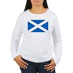 Scottish Flag Women's Long Sleeve T-Shirt