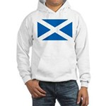 Scottish Flag Hooded Sweatshirt