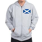 Scottish Flag Zip Hoodie