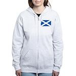 Scottish Flag Women's Zip Hoodie