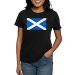 Scottish Flag Women's Dark T-Shirt