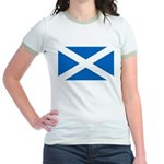 Scottish Flag Jr. Ringer T-Shirt