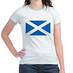 Scottish Flag Jr. Ringer T-Shirt