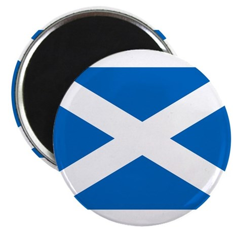 """Scottish Flag 2.25"""" Magnet (100 pack)"""