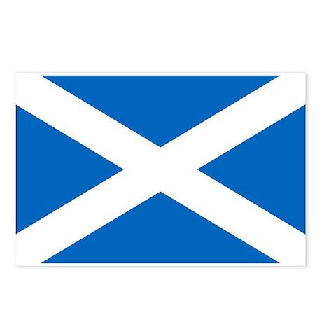 Scottish Flag Postcards (Package of 8)