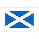 Scottish Flag Large Poster