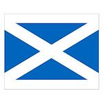 Scottish Flag Small Poster