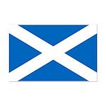 Scottish Flag Mini Poster Print