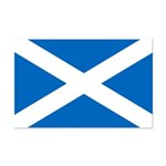 Scottish Flag Mini Poster Print
