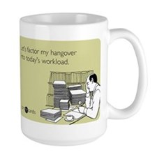 Factor My Hangover Mug