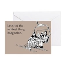 Whitest Thing Greeting Card