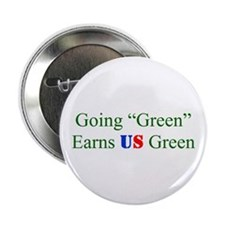 "2.25"" Button - green earns"