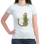 Animal Alphabet Jaguar Jr. Ringer T-Shirt