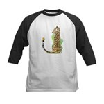 Animal Alphabet Jaguar Kids Baseball Jersey