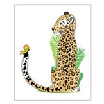 Animal Alphabet Jaguar Small Poster