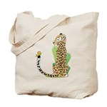 Animal Alphabet Jaguar Tote Bag