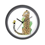 Animal Alphabet Jaguar Wall Clock