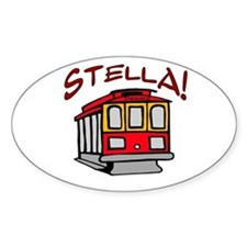 Stella Oval Decal
