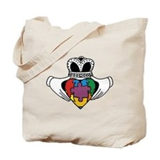 Spectrum Claddagh Tote Bag