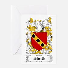 Sheild Greeting Card