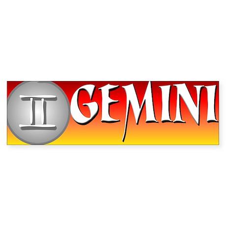 GEMINI Sticker (Bumper)