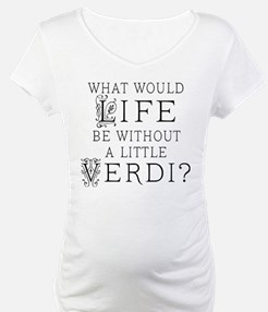 Verdi Music Quote Shirt
