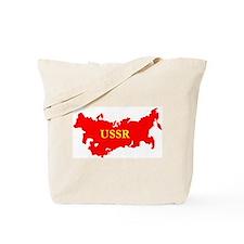 USSR Soviet Union Map Tote Bag