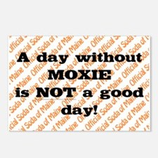 Official soda of Maine: Day without Moxie Postcard