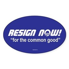 Resign Now Stickers