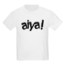 aiya! Kids' Light T-Shirt
