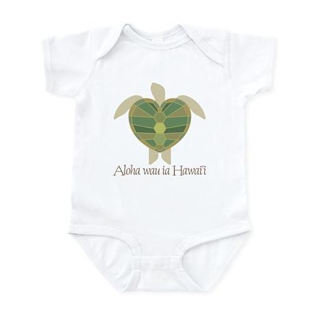 Aloha wau ia Hawai'i (I Love Infant Bodysuit
