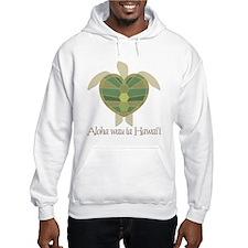 Aloha wau ia Hawai'i (I Love Hoodie