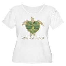 Aloha wau ia Hawai'i (I Love T-Shirt