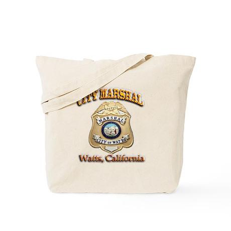 Watts City Marshal Tote Bag