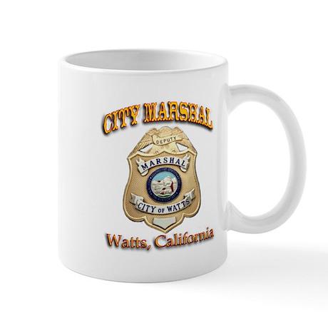 Watts City Marshal Mug
