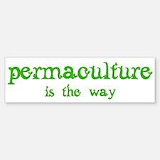 Permaculture Bumper Bumper Sticker