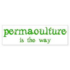 Permaculture Bumper Sticker