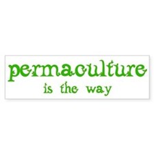 Permaculture Car Sticker