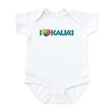 I Love Kaua'i Infant Bodysuit