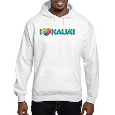I Love Kaua'i Hoodie